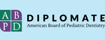 Diplomate American Board of Pediatric Dentistry logo