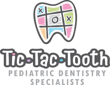 Tic Tac Tooth Pediatric Dentistry Specialists Logog
