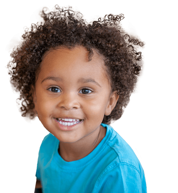 Small child with healthy smile